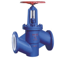 Low price for Straight Globe Valve,Straight Type Globe Valve,Straight Globe Check Valve,Stainless Steel Straight Globe Valve Manufacturer in China YD46F PTFE Lining Fluorine Lined Globe Valve export to Antigua and Barbuda Wholesale