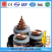 12KV Copper Conductor XLPE Insulation with PVC Outer Sheath Power Cable and line