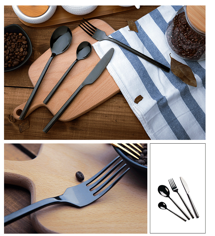 spoon fork knife wedding cutlery