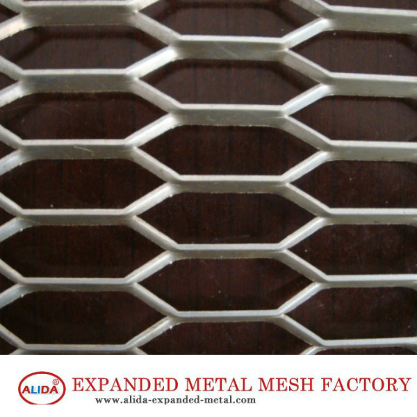 Expanded Metal Security Fencing