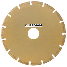115mm Segmented Vacuum Brazed Blade