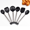 Stainless Steel Heat Resistant Silicone Utensils Sets