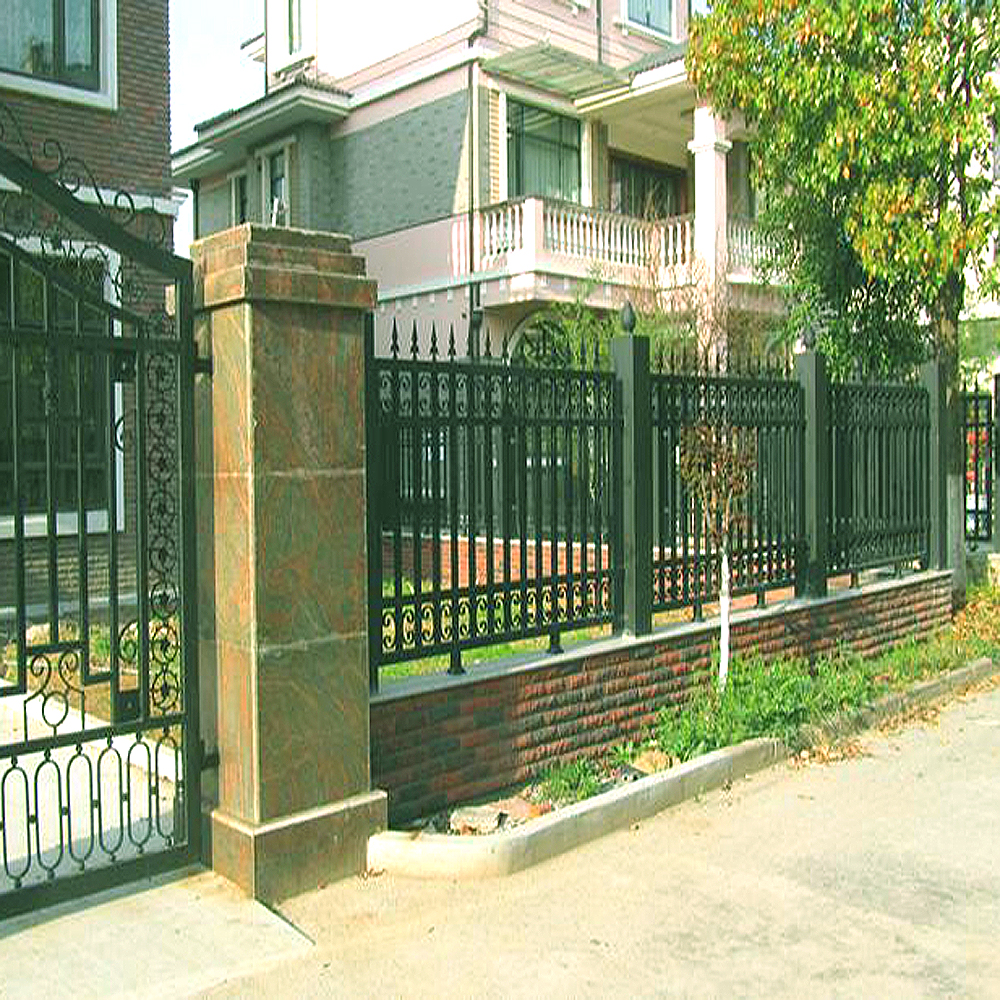 Powdered Coated Art Iron Garden Fence