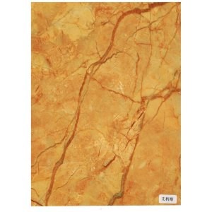Free sample for Faux Marble Wall Panel PVC imitation marble sheet and PVC profile supply to Tuvalu Supplier
