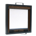 Retractable window with aluminum frame 3404