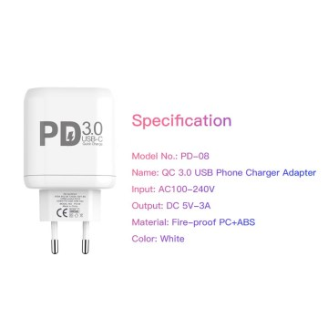 Quick Charge 3.0 USB Charger Dual USB Adapter
