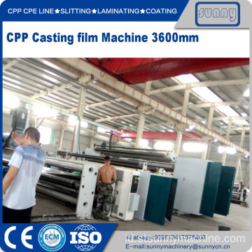 CPP Casting film mesin