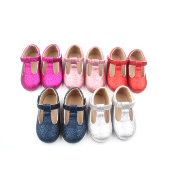 Blue Glitter Bling Bling Baby Kids Shoes