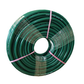 Green High Pressure Braided PVC Hose