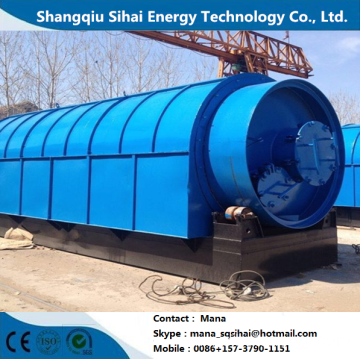 Double Desulfuration for Used Tyre Recycling Plant