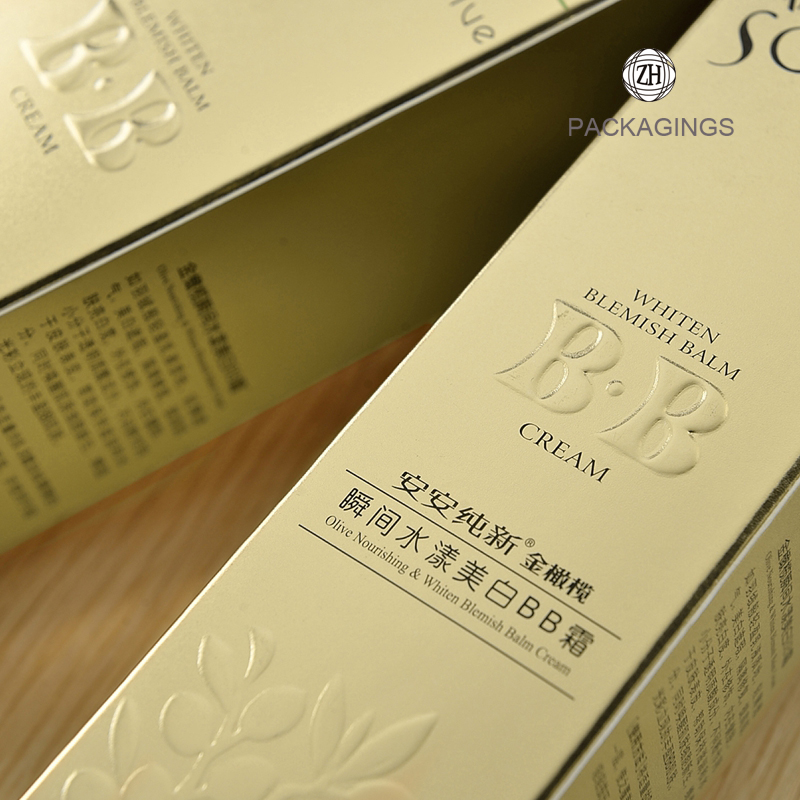 Fancy cosmetic box paper box for olive oil
