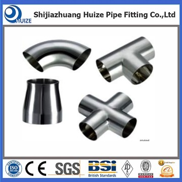 Personlized Products for Best Seamless Stainless Steel Pipe Fittings , 316 Stainless Steel Pipe Fittings, Stainless Steel Fittings Manufacturer in China SS ASME B16.9 equal tee supply to Madagascar Suppliers