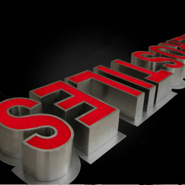 Custom 3D Restaurant Letter Signs Outdoor