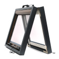 Retractable window with aluminum frame 0911