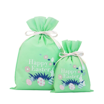 Green Easter Eggs Gift Wrapping Bags