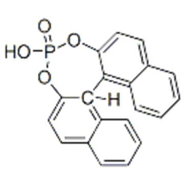 Dinaphtho [2,1-d: 1 ', 2'-f] [1,3,2] dioxaphosphepin, 4-hydroxy-, 4-oxide, (57189857,11bR) - CAS 39648-67-4