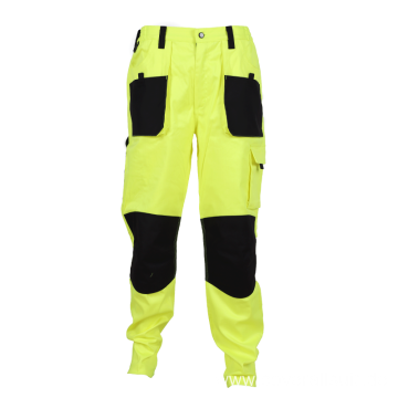 welding work wear pants with knee pad