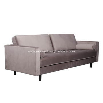 Classic Sven Cascadia Luca Velvet Sofa Reproduction