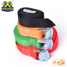 Factory directly for Stainless Steel Ratchet Strap Hot Sale Heavy Duty Polyester Ratchet Buckle Cargo Lashing Belt export to Suriname Importers