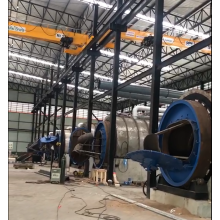 Waste Tyre to Fuel Oil Pyrolysis Machine