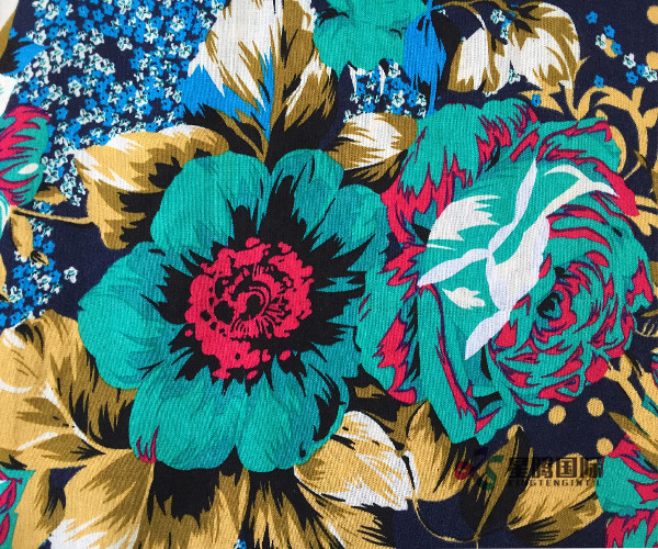 Good Price Rayon Printed Fabric
