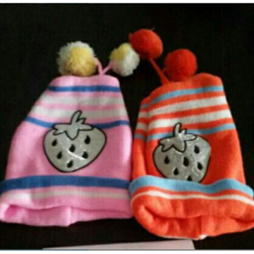 Infant Kids Cotton Cap with Neck Cover