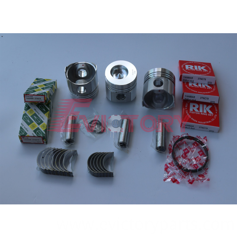 3TNC78 piston+ring+bearing