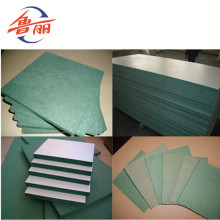 Cheap for Plain Melamine Mdf Melamine board HMR MDF for furniture supply to Lesotho Supplier