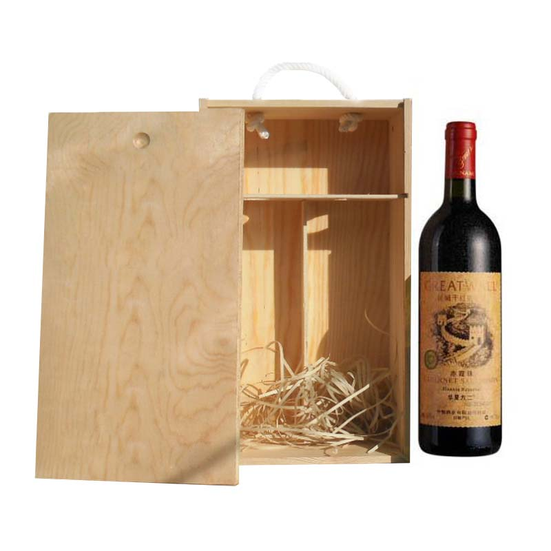 Solid Wood Packaging Wine Box