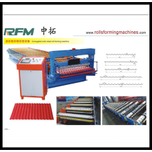 Good Quality for Metal Corrugated Panel Galvanized Roofing Sheet Roll Forming Machine supply to Solomon Islands Manufacturers