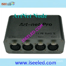 Madrix Compatible 4 Heads Artnet Node 3D Visualiser