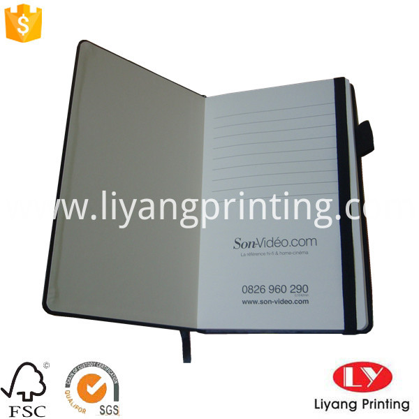 notebook with elastic