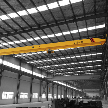 5T Single Beam Steel Factory Overhead Crane