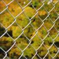 Outdoor Removable Vinyl Coated Chain Link Fence