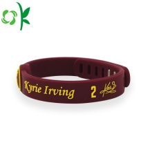 Irregularity Personalised High Quality Silicone Bracelets