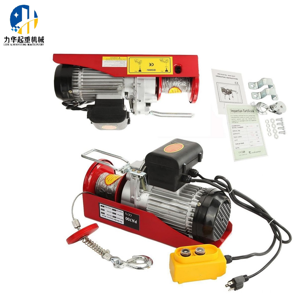Mini Electric Hoist Wire Rope Winch