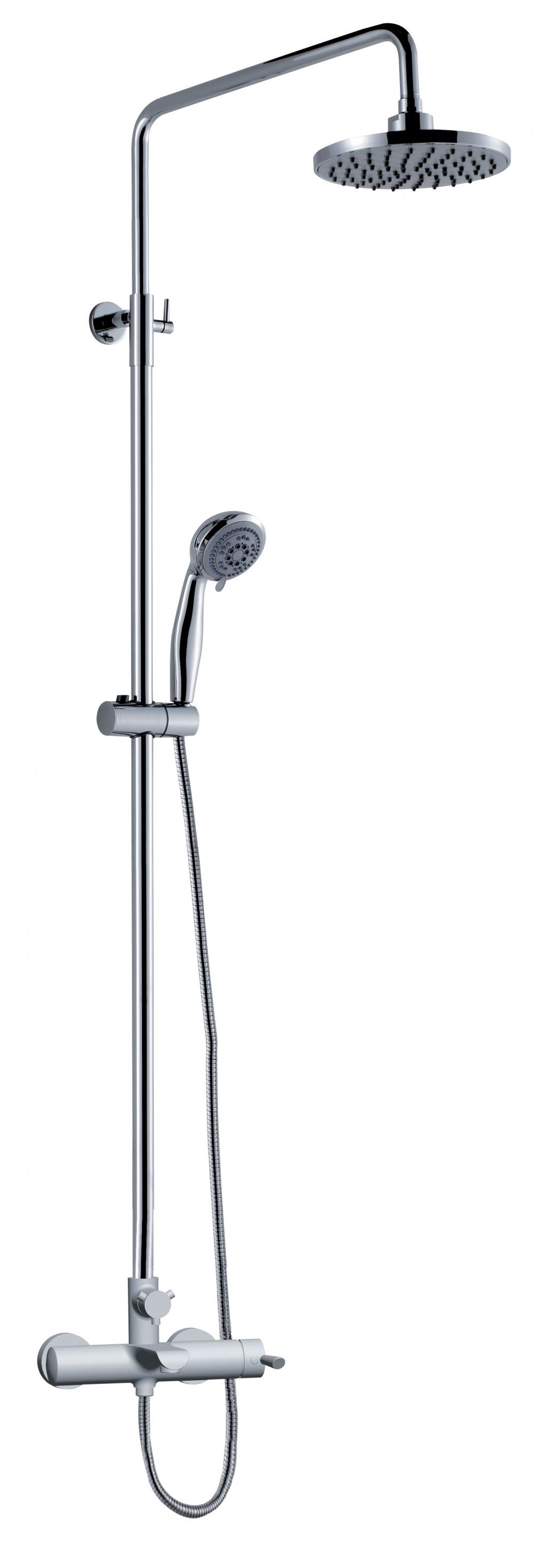 Single Handle Wall Mounted Shower Faucet