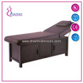 Wooden Frame Adjustable Facial Bed For Sale