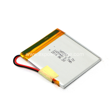 Low Price 345054 3.7V 1000mAh Li Polymer Battery