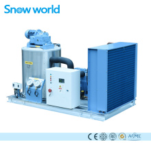 Snow world Flake Ice Maker Making Machine