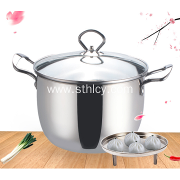 304 Quality Stainless Steel Kitchen Pot