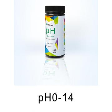 pool chemical test strips ph0-14 paper