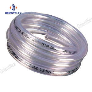 Food grade pvc clear hose for milk beer