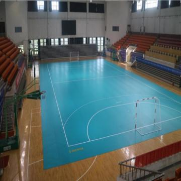 multi-purpose handball sports court floor