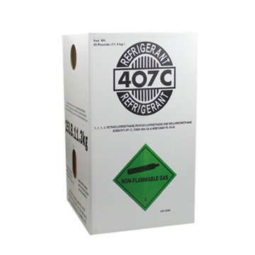 99.9% purity refrigerant gas r407c