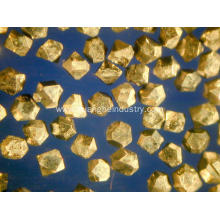 Superhard Material of Synthetic Diamonds Ti Coated