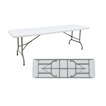 8ft foldable rectangle outdoor table