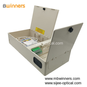 SC 32 Port Waterproof Fiber Optic Distribution Box