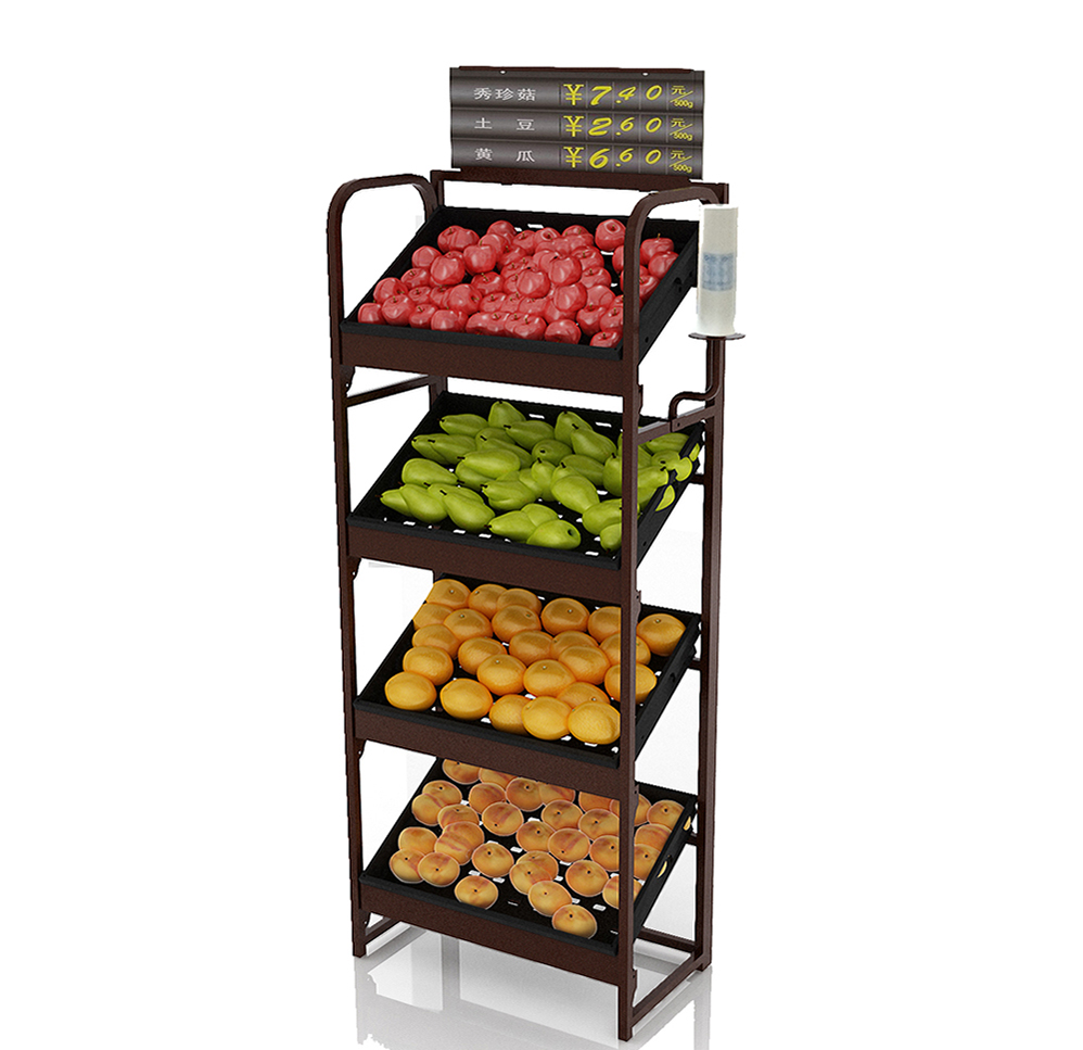 Retail Vegetable Rack