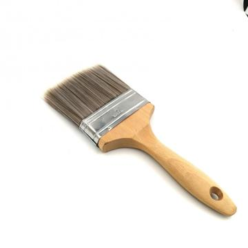 Polyester wood handle paint brush
